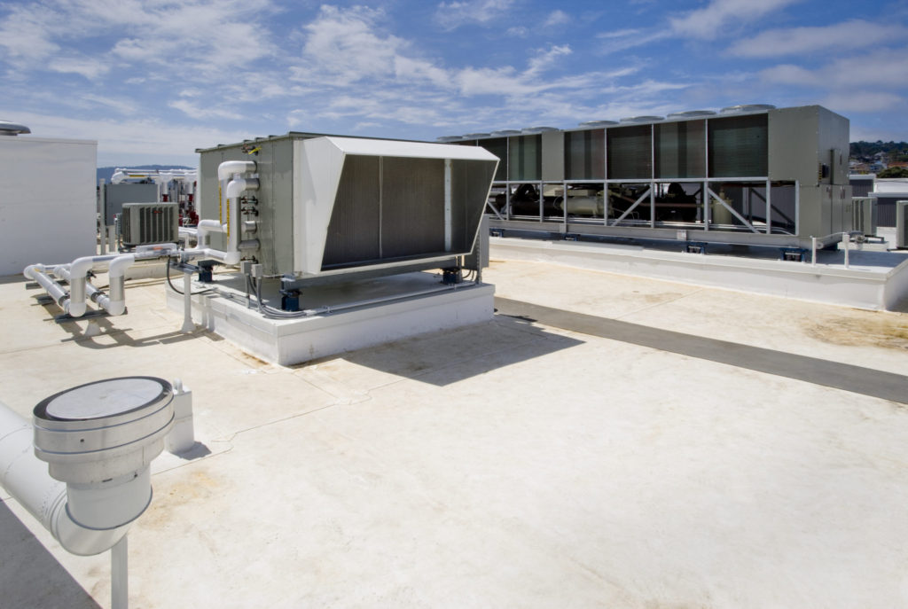 Unité de toiture CVAC